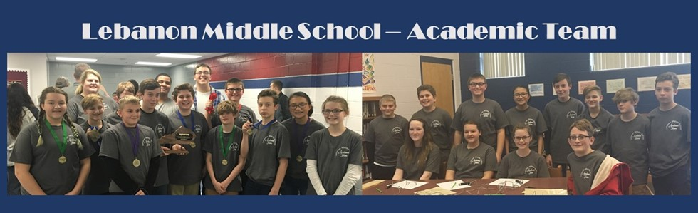 Lebanon Middle School Academic Team