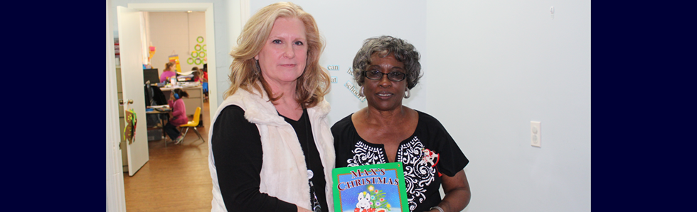 Marion County Public Schools donates books to Headstart and daycare centers across the county.