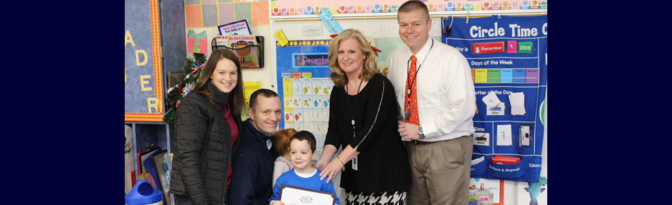 Congratulations to Tanner Reed, a student in Mrs. Brussell's preschool classroom, for reading 75 books!