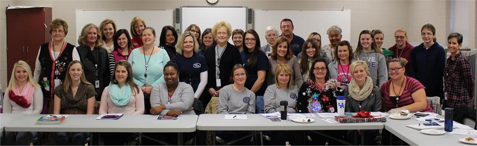 Marion County Public Schools held an Early Childhood PLC on Friday, January 18, 2015, to discuss and plan the upcoming Over the Top Preschool Registration event. Local community partners including Head Start and childcare providers were present.