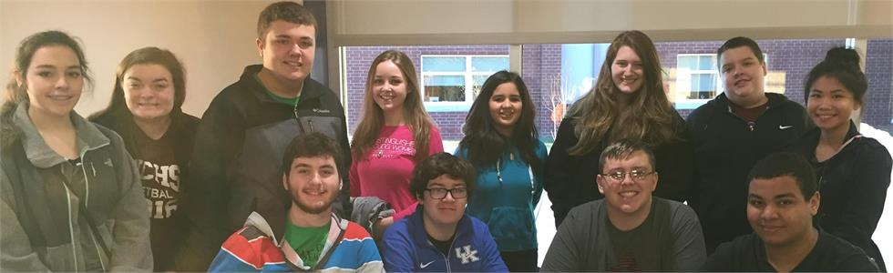 MCHS students participate in the Governor's Cup district competition.