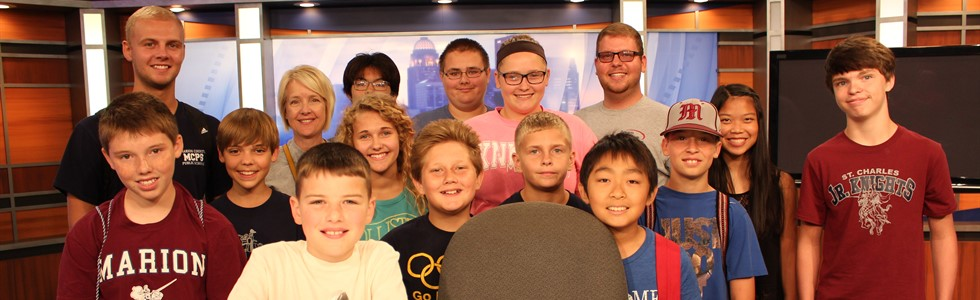 The Marion Institute of Technology Summer Program visited WAVE3 TV Studios on June 29.
