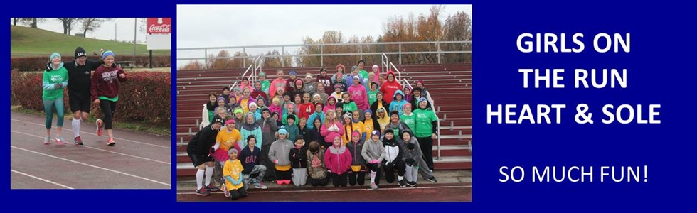 Girls on the Run/Heart & Sole Practice 5K at MCHS