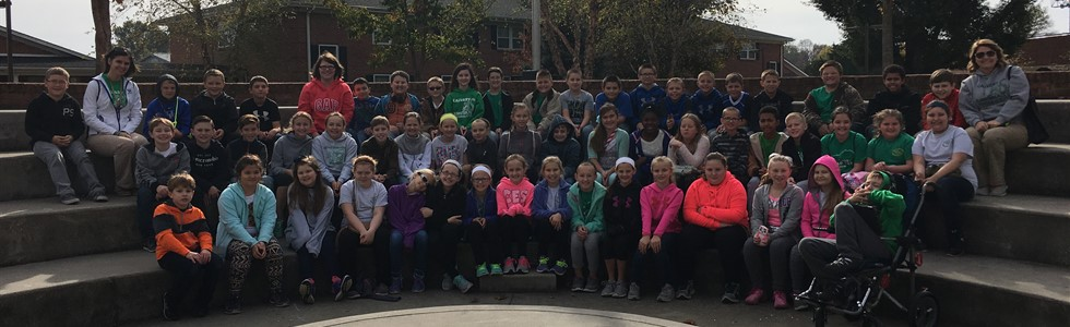 Calvary students in Mrs. May and Mrs. Dougherty's Classes visit Lindsey Wilson College - Nov. 11, 2016