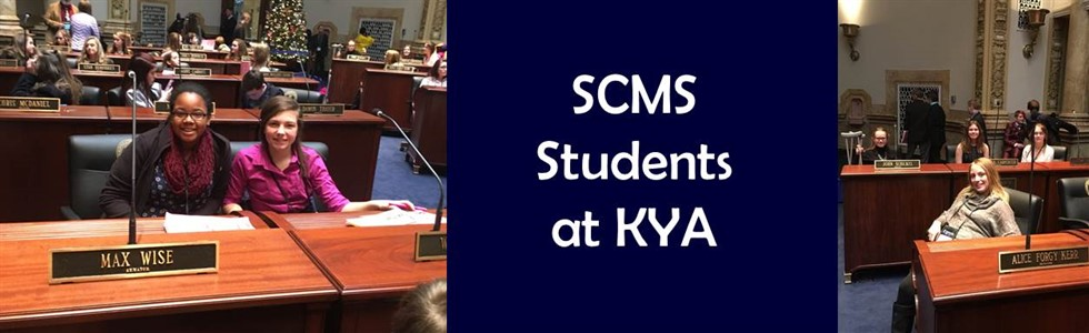 St. Charles Middle School students attend the Kentucky Youth Assembly in Frankfort