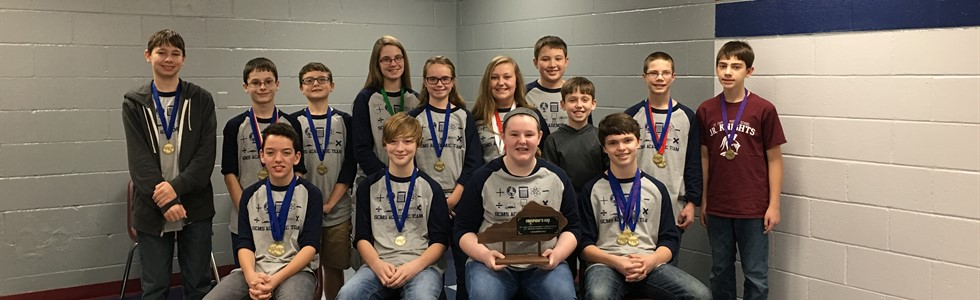SCMS - Champions of District 44 Governor's Cup Academic Team Competition 2017