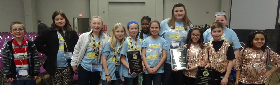 Calvary Elementary School BETA Club competes in Lexington, KY.