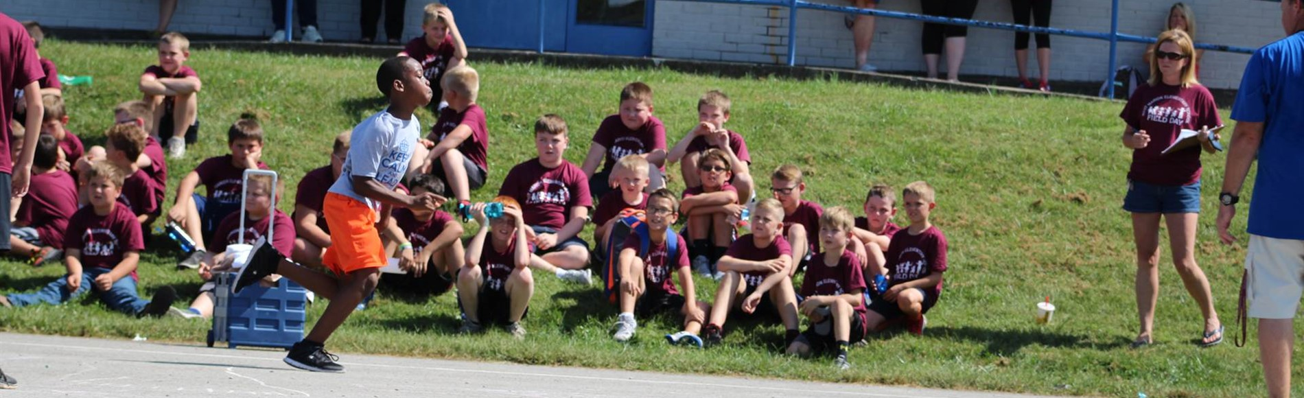 Students participated in Field Day at Glasscock Elementary.