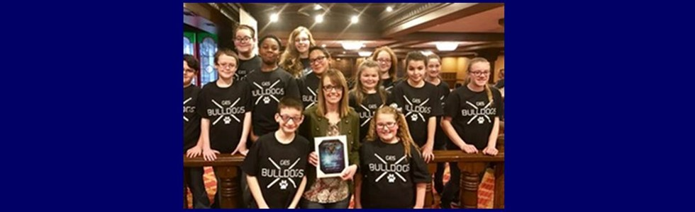 Glasscock Elementary students and teacher were recognized for their outstanding performance at the Kentucky Music Educators Conference