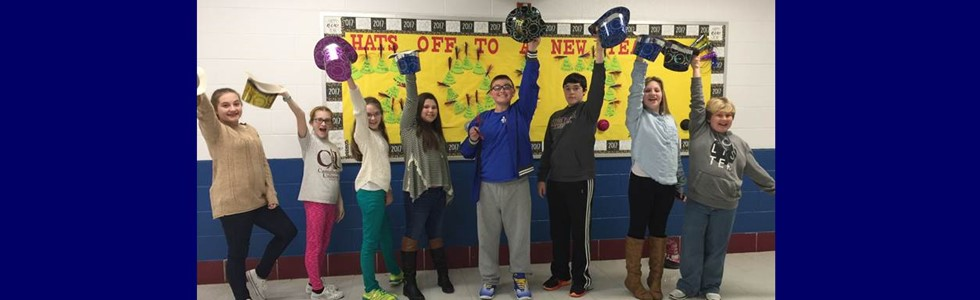 HATS OFF TO A NEW YEAR!!! LMS Student Council wishes teachers, staff, parents, and the community a happy and productive 2017!