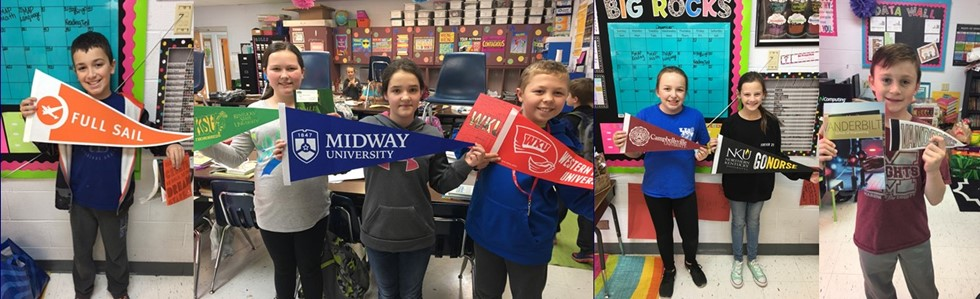 CES students in Mrs. Dougherty's and May's classes are learning early about the value of big dreams for being life ready.